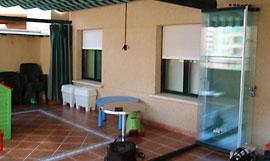 Puertas plegables ventanas technal 91 141 35 36 for Ventanales elevables